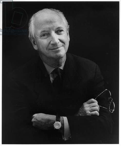 Michael Graves, New York City, 2000 (b/w photo)