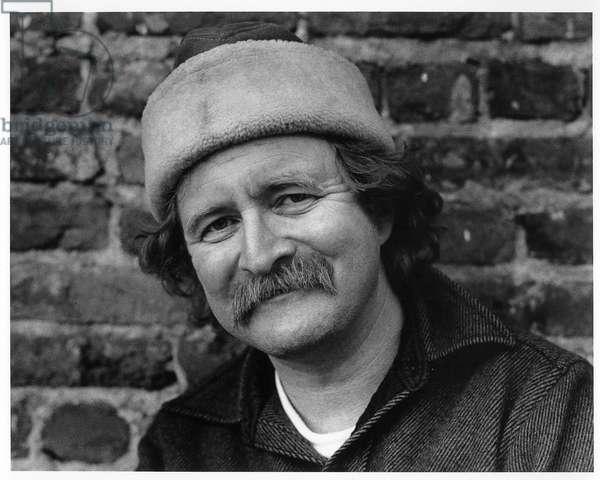 Richard Brautigan, San Francisco, 1981 (b/w photo)
