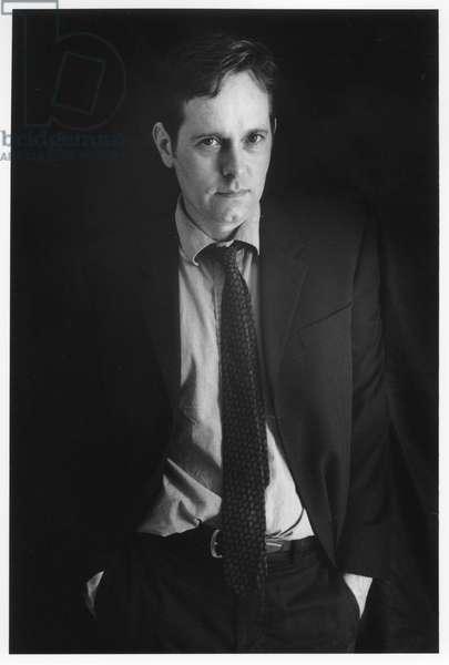 Raymond Foye, New York City, 2000 (b/w photo)
