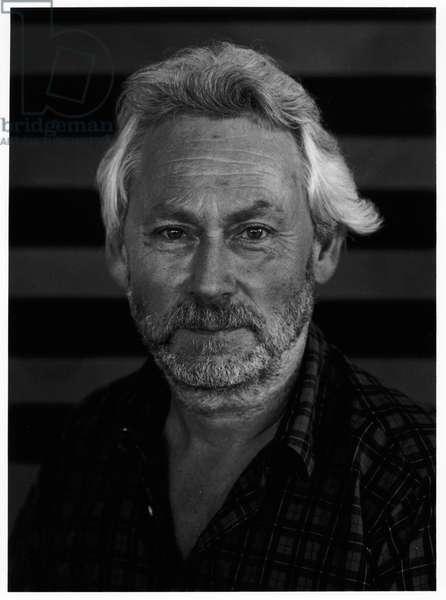 Donald Judd, Marfa, Texas, 1992 (b/w photo)