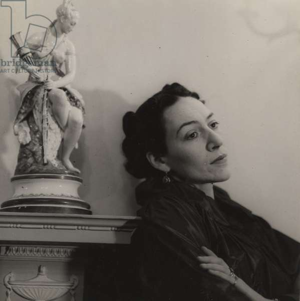 Doris Langley Moore, 1940s (b/w photo)