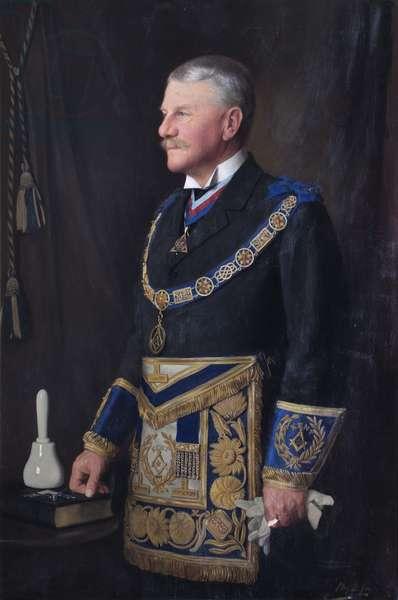 Fiennes Stanley Wykeham, 1st Baron Cornwallis, 1930 (oil on canvas)
