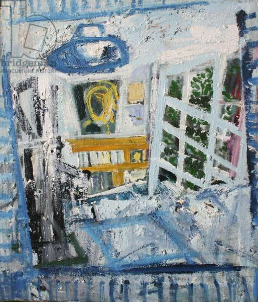 The Artist's Kitchen (oil based paint on canvas)