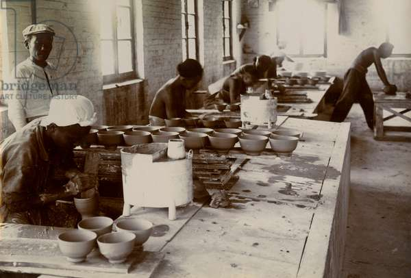 Porcelain workshop, China, 20th century