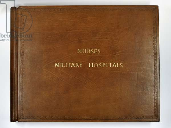 Register of nurses sent to military hospitals in the East (leather)
