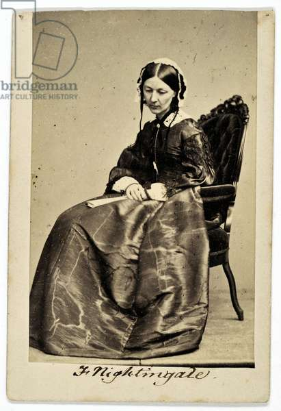 Florence Nightingale (sepia photo)