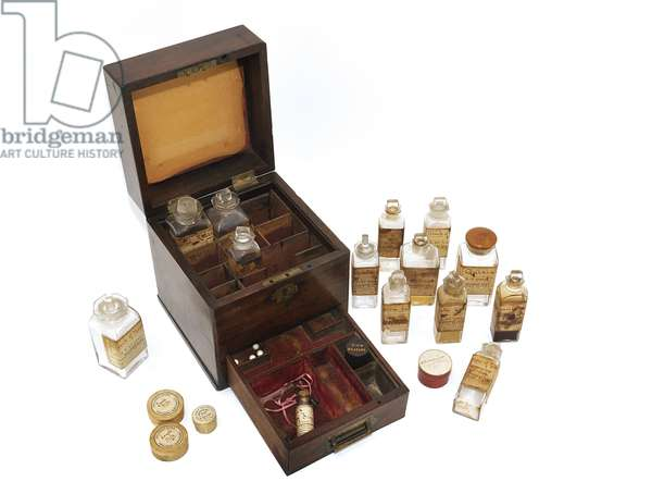 Medicine chest owned and used by Florence Nightingale in the Crimea (mixed media)