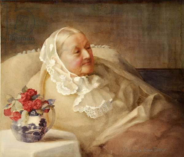 Florence Nightingale, 1907 (watercolour)
