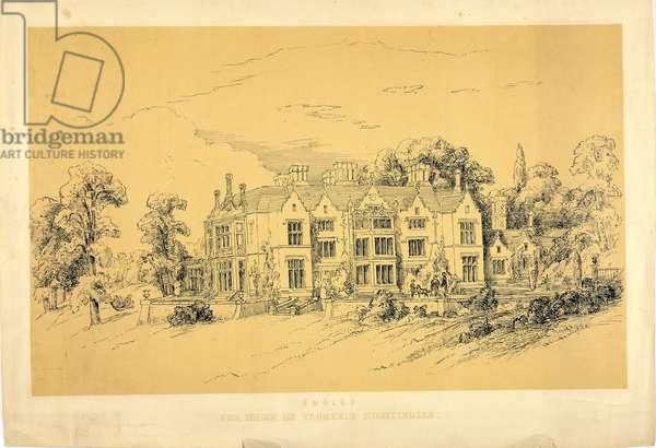 Embley Park, c.1856 (litho)