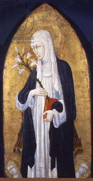 Saint Catherine of Siena (1347-80), c.1462 (tempera on panel)