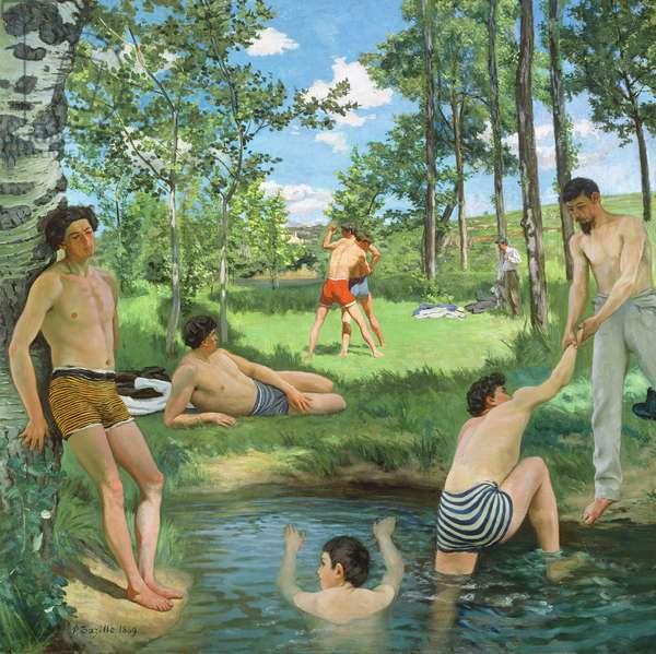Summer Scene, 1869 (oil on canvas)