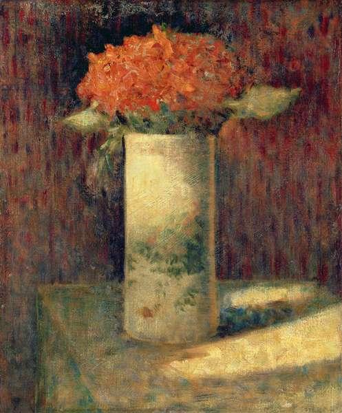 Vase of Flowers, c.1878-79 (oil on canvas)