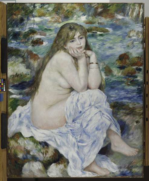 Seated Bather, c.1883-84 (oil on canvas)
