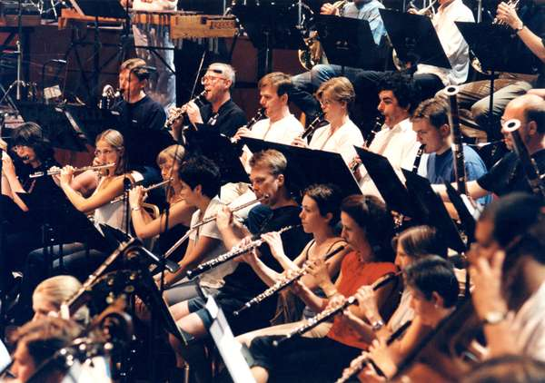 Wind section of BBC