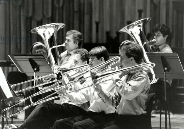 Brass section of London