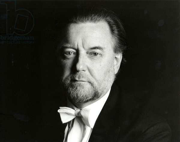 Sir Andrew Davis portrait