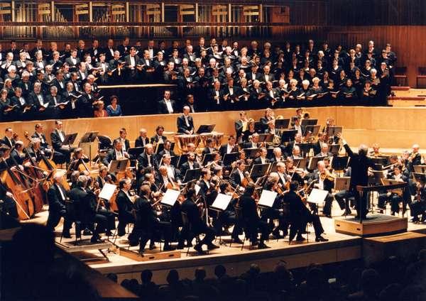 Daniel Barenboim conducting May
