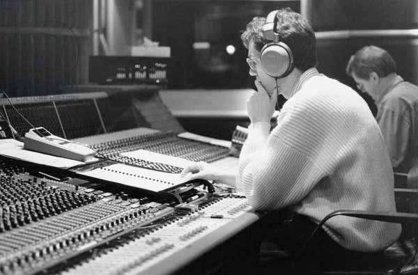 Recording session at Air