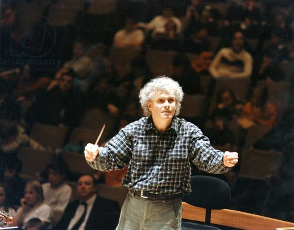 Simon Rattle conducting December