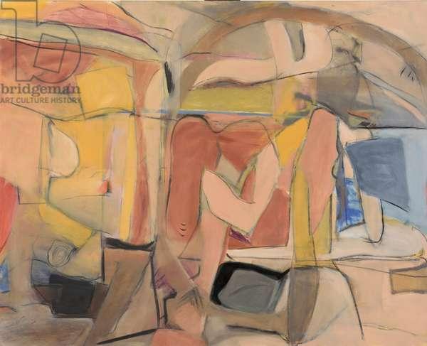 Seraglio (oil on canvas)