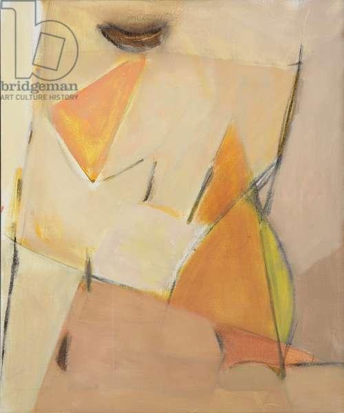 Figure (oil on canvas)