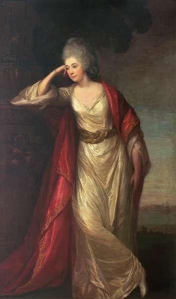 Margaret Kemble, 1775 (oil on canvas)
