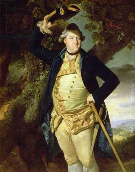 Portrait of George Nassau, 3rd Earl Cowper (oil on canvas)