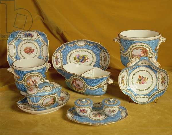 Part of the Sevres Melbourne Service, 1770-71 (soft-paste porcelain)