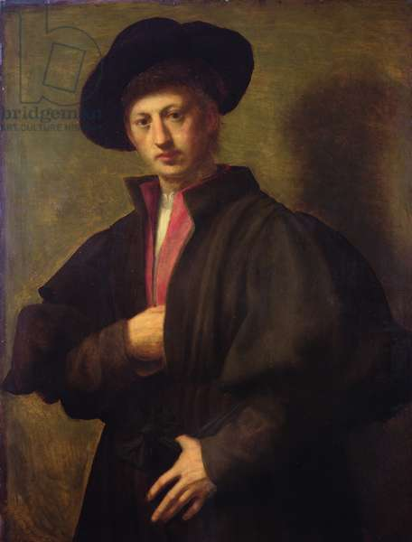 Portrait of a Man, called The Fattore of San Marco (oil on panel)