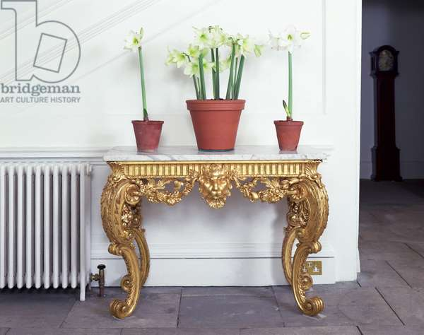 George I console table (giltwood)
