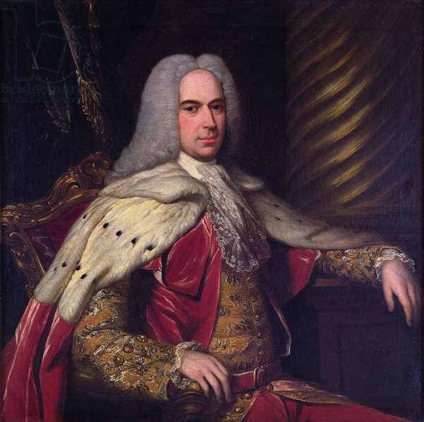 Portrait of Thomas, 1st Viscount Gage (oil on canvas)