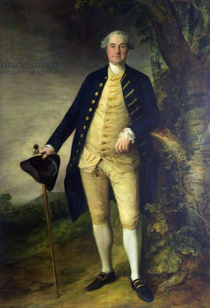 Portrait of William Hall, 2nd Viscount Gage (oil on canvas)