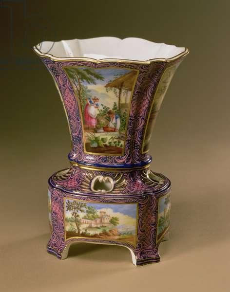 Sevres Flower Vase, 1761-62 (soft-paste porcelain)