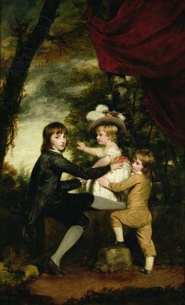 The Lamb Children, 1783-85 (oil on canvas)