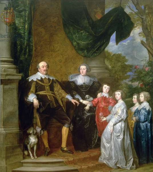 John, Count of Nassau with his Family, 1634 (oil on canvas)