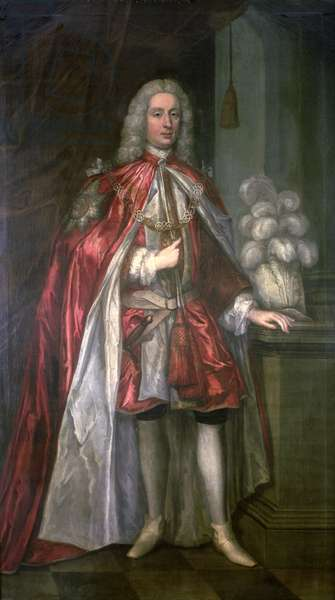 Sir William Gage, 7th Bart., K.B. (oil on canvas)