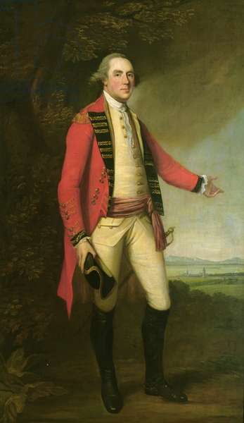 General the Hon. Thomas Gage, c.1775 (oil on canvas)