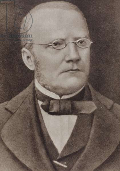 Stanislaw Moniuszko (05.05.1819-04.06.1872). The father of Polish national opera. Polish composer, conductor and teacher.