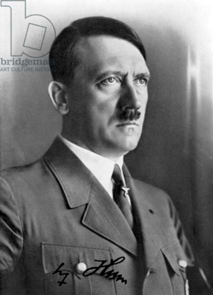 Adolf Hitler - creator and dictator of the third German reich. Responsible for war crimes against humanity.