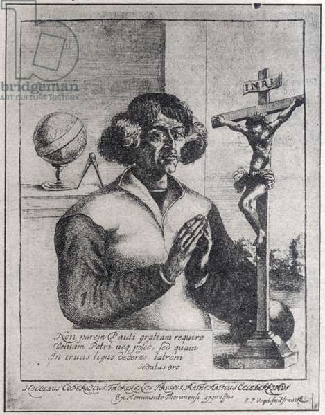 Nicolaus Copernicus, (19.02.1473-24.05.1543), astronomer, mathematician, priest, discoverer of heliocentric cosmology theory.