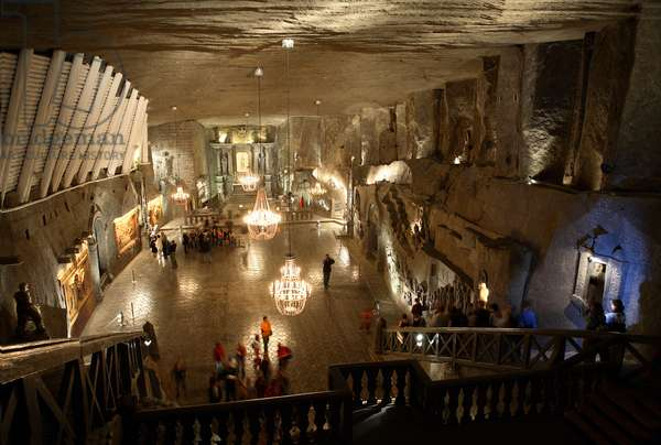 Wieliczka, Salt mine. The Wieliczka Salt Mine is one of the world's oldest operating salt mines, which has been in operation since prehistoric times.