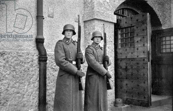 World War II. German soldiers.