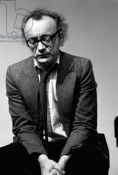 Alfred Brendel at the