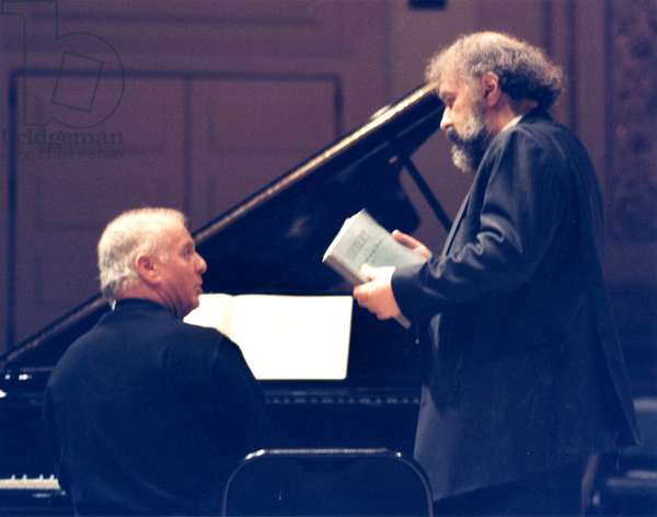 Daniel Barenboim and Radu