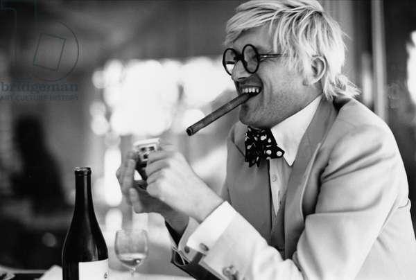 David Hockney 1973 English-born