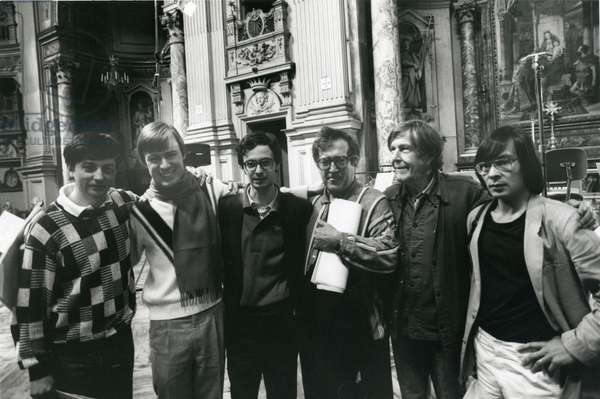John Cage with composers