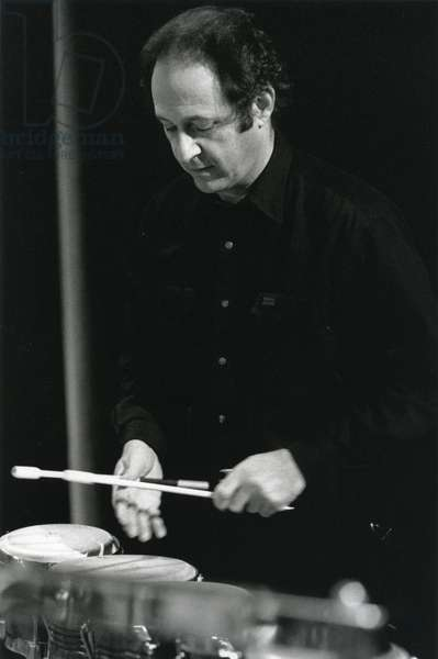 Steve Reich playing bongos