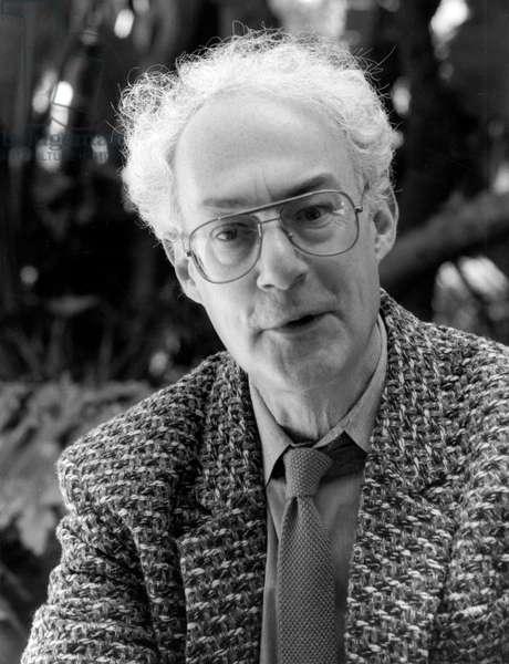 David Behrman - portrait
