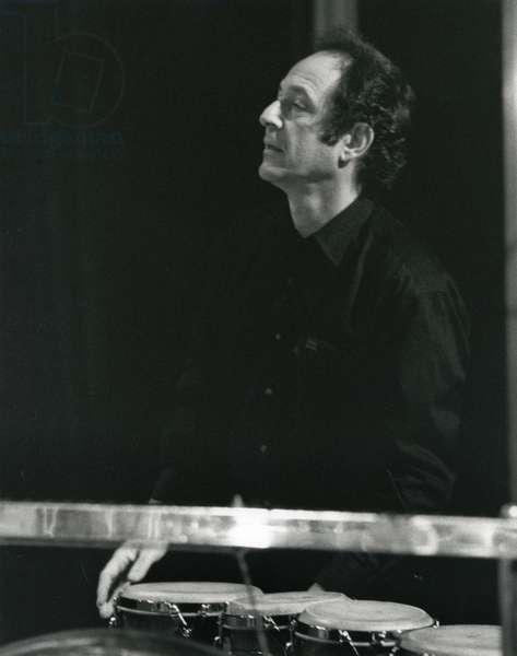 Steve Reich playing bongo