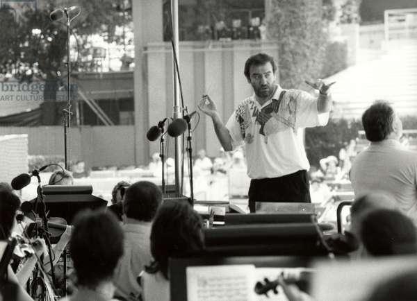 Valery GERGIEV rehearsing in